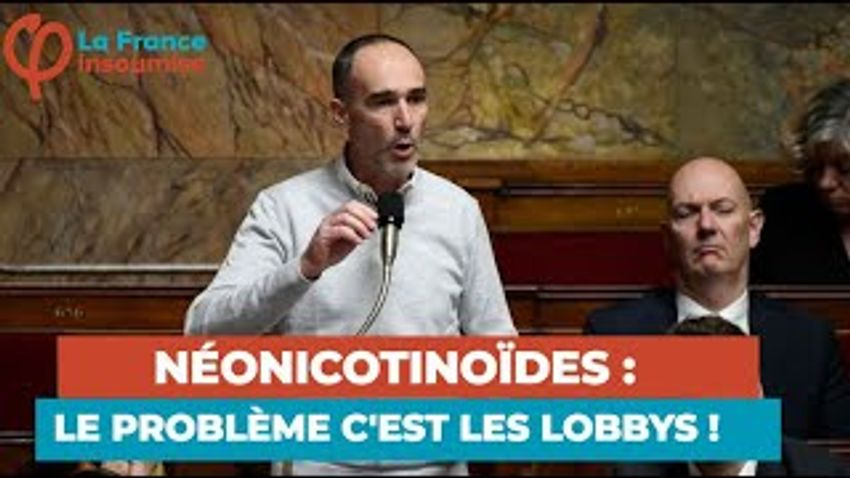 Photo de l'article Bataille contre les néonicotinoïdes à l'Assemblée nationale